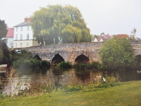 Die Packhorse Bridge über den River Avon. Eigenes Foto.