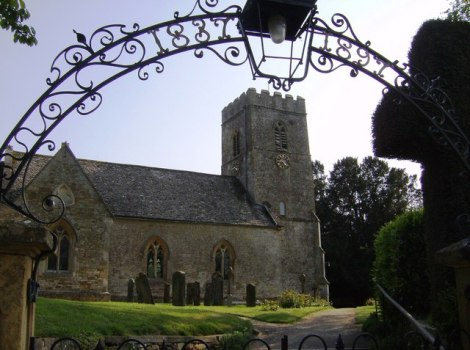 St Mary Magdalene in Adlestrop.    © Copyright Graham Horn and   licensed for reuse under this Creative Commons Licence.