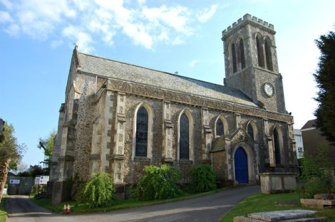 St Andrew in Charmouth (Devon).    © Copyright John Myers and   licensed for reuse under this Creative Commons Licence.