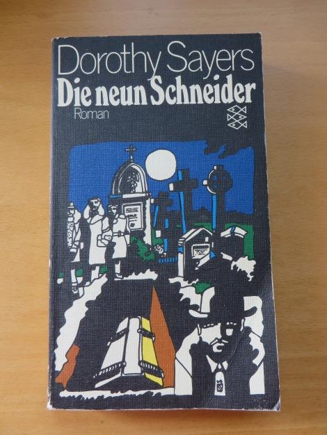 Ein lesenswerter Kriminalroman mit viel Atmosphäre. Foto meines Exemplars.