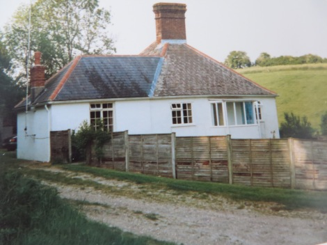 Unser einsames Cottage bei Pimperne (Dorset). Eigenes Foto.
