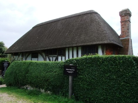 The Alfriston Clergy House.    © Copyright PAUL FARMER and   licensed for reuse under this Creative Commons Licence.