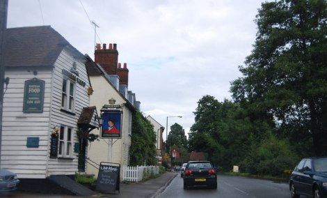 The general Wolfe in Westerham.    © Copyright N Chadwick and   licensed for reuse under this Creative Commons Licence.