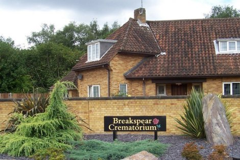 The Breakspear Crematorium in Ruislip (Greater London).    © Copyright Russell Trebor and   licensed for reuse under this Creative Commons Licence.