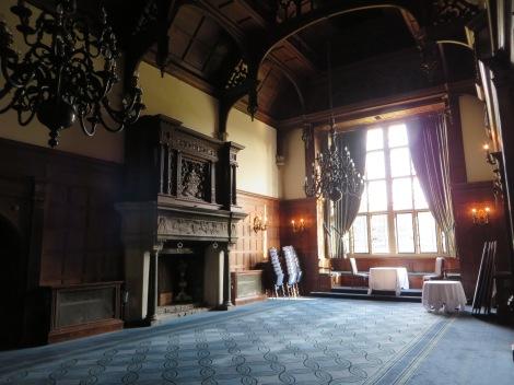 Einer der schönen Veranstaltungsräume des Hotels. Eigenes Foto.