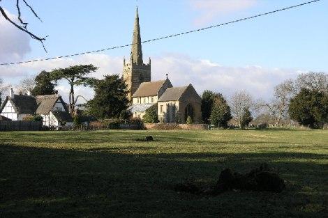 Das Dorf Ladbroke in Warwickshire gab dem Wettunternehmen den Namen.   © Copyright Michael Patterson and   licensed for reuse under this Creative Commons Licence.