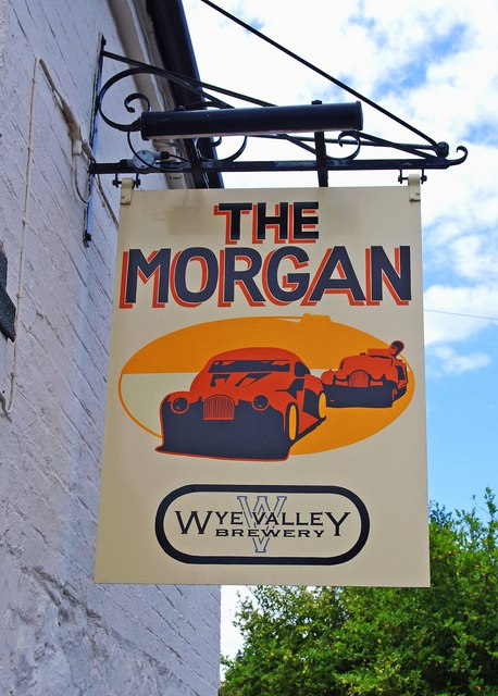 The Morgan Pub in Great Malvern.    © Copyright P L Chadwick and   licensed for reuse under this Creative Commons Licence.