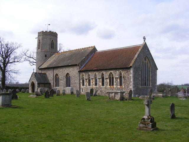 St Peter And St Paul An Der Wymondham Road. © Copyright Adrian Cable And  Licensed