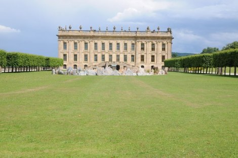 Chatsworth House in Derbyshire.   © Copyright Philip Halling and licensed for reuse under this Creative Commons Licence.