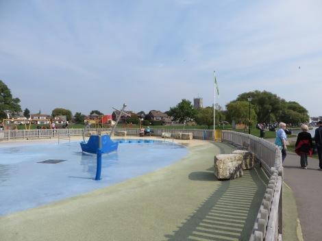 Der Water Splash Park. Eigenes Foto.
