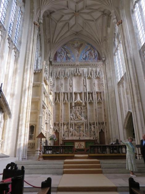 Das Innere der Priory Church. Eigenes Foto.