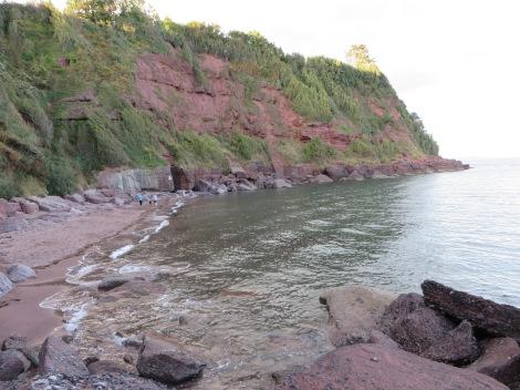 Der Strand von Maidencombe. Eigenes Foto.