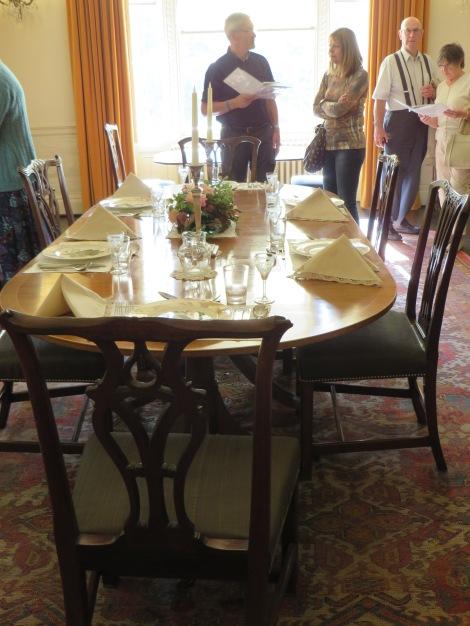 Im Dining Room. Eigenes Foto.