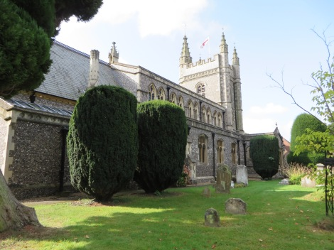 St Mary and all Saints. Eigenes Foto.