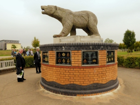 Das Polar Bear Memorial.    © Copyright David Dixon and   licensed for reuse under this Creative Commons Licence.