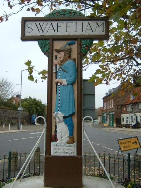 Harry Carters erste Arbeit: The Pedlar of Swaffham. © Cameron Self. http://www.literarynorfolk.co.uk/