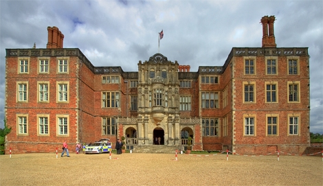 Bramshill House in Hampshire. Hier soll Henry Copes Geist gesichtet worden sein.    © Copyright Mike Searle and   licensed for reuse under this Creative Commons Licence.