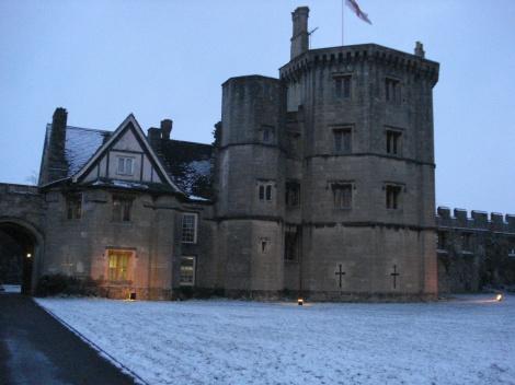 Hier im Thornbury Castle verbrachten Heinrich VIII und seine Frau Anne Boleyn im August 1535.
