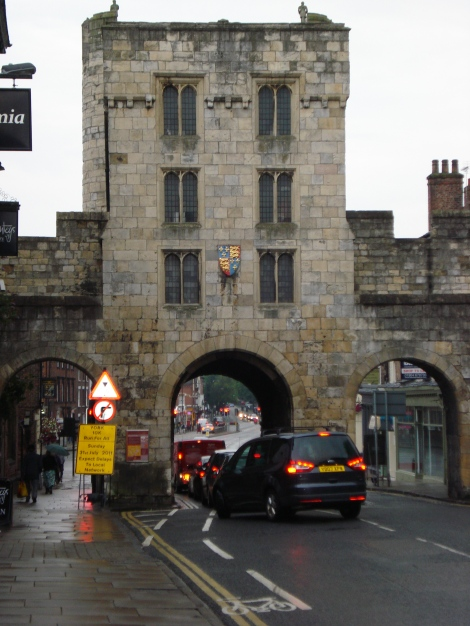 "The Micklegate Bar in York. Hier wird am Yorkshire Day die ""declaration. Eigenes Foto."