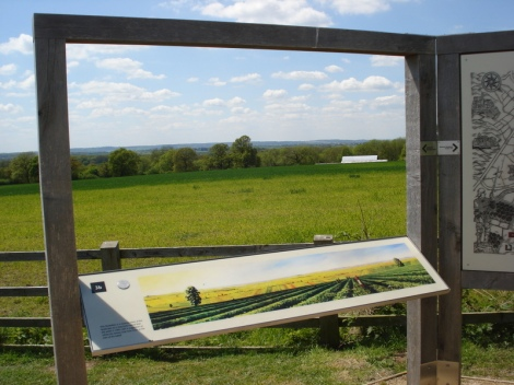 Bosworth Battlefield Heritage Centre. Eigenes Foto.