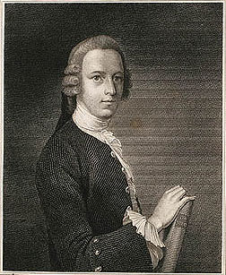 Nicholas Revett, der Erbauer des Musiktempels. his image (or other media file) is in the public domain because its copyright has expired.