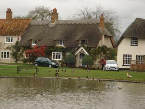 Haddenham in Buckinghamshire. Auch hier ging Tom Barnaby ein und aus. Eigenes Foto.