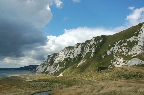 Samphire Hoe unterhalb der Klippen von Dover. Author: Alfred Gay. This work is licensed under the Creative Commons Attribution-ShareAlike 3.0 License.
