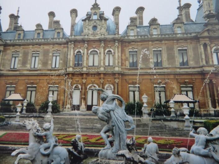 Das Waddesdon Manor der Familie Rothschild in Buckinghamshire. Eigenes Foto.
