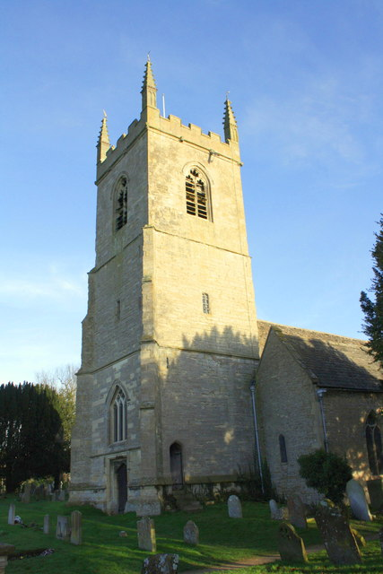 St Nicholas in Islip (Oxfordshire). Hier ruht William Buckland.    © Copyright Roger Templeman and   licensed for reuse under this Creative Commons Licence.