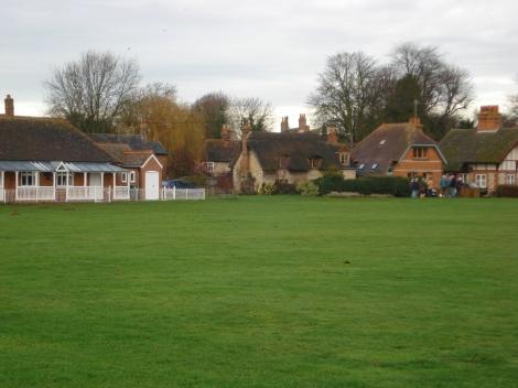 Das Village Green in Warborough (Oxfordshire). Hier wohnte Eigenes Foto.