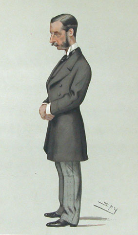 James Hamilton, 2nd Duke of Abercorn, der letzte Groom of the Stool. This work is in the public domain.
