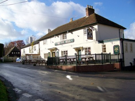 The Five Bells Pub in The Five Bells Lane.    © Copyright Miss Steel and   licensed for reuse under this Creative Commons Licence.