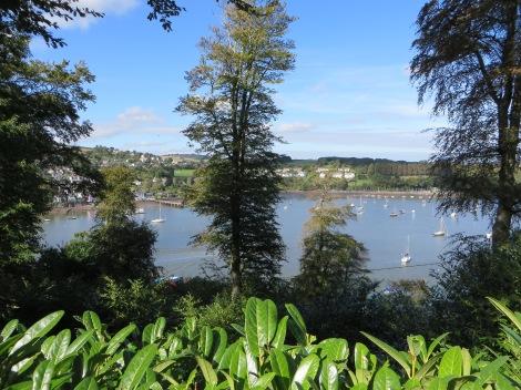 Blick von Greenway auf den River Dart. Eigenes Foto.