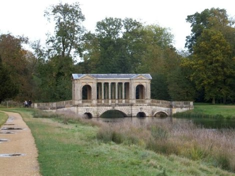 Die Palladian Bridge im Stowe Park in Buckinghamshire, Drehort für    © Copyright David Smith and   licensed for reuse under this Creative Commons Licence.