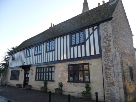 Oliver Cromwell's House in Ely.    © Copyright Chris Gunns and   licensed for reuse under this Creative Commons Licence.