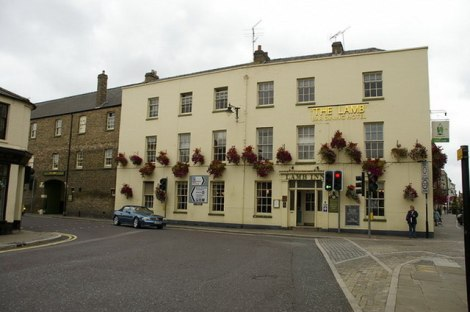 The Lamb Hotel.    © Copyright Alexander P Kapp and   licensed for reuse under this Creative Commons Licence.