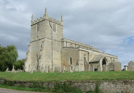 St Mary's Church in Woodnewton.    © Copyright JThomas and   licensed for reuse under this Creative Commons Licence.