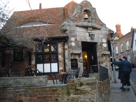 The Old Bell in Rye (East Sussex). Eigenes Foto.