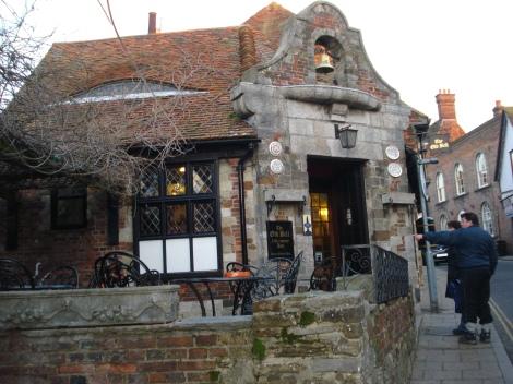 The Old Bell in Rye (East Sussex). Eigenes Foto.