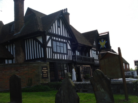 The Star and Eagle in Goudhurst (Kent). Eigenes Foto.