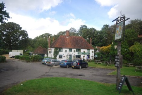 The Oak and Ivy in Hawkhurst (Kent).    © Copyright N Chadwick and   licensed for reuse under this Creative Commons Licence.
