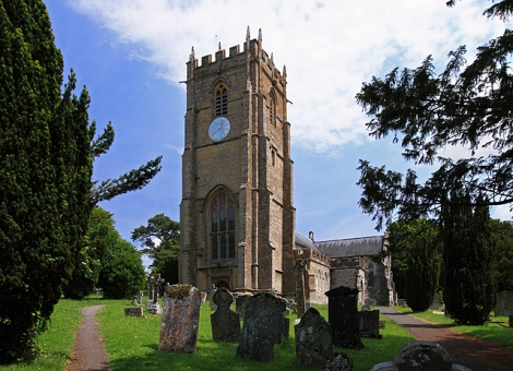 St  in Whitchurch Canonicorum.    © Copyright Mike Searle and   licensed for reuse under this Creative Commons Licence.