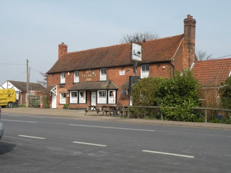 The Plough Inn am Green.    © Copyright Robert Edwards and   licensed for reuse under this Creative Commons Licence.