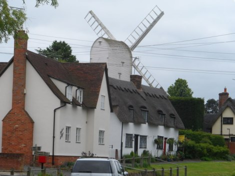 Die Windmühle von Finchingfield.    © Copyright Bikeboy and   licensed for reuse under this Creative Commons Licence.