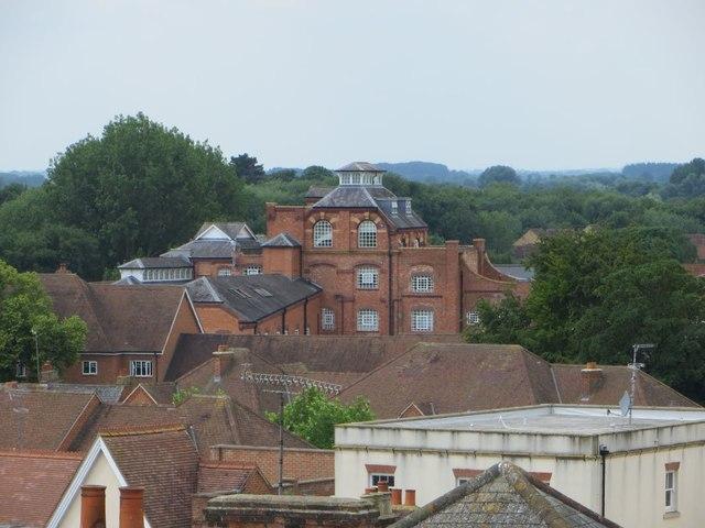 Die alten Brauereigebäude in Abingdon (Oxfordshire).   © Copyright Bill Nicholls and   licensed for reuse under this Creative Commons Licence.
