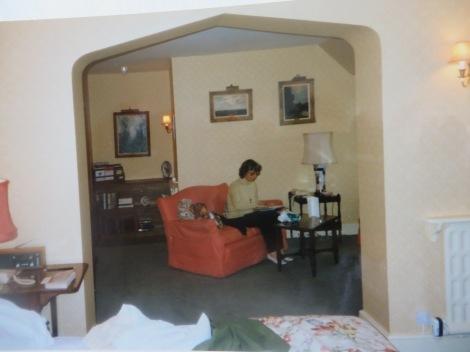 Unsere Suite im Gravetye Manor. Eigenes Foto.