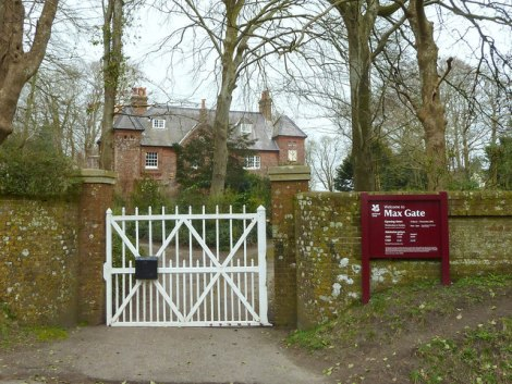 Max Gate in Dorchester (Dorset): Hier residierte Wessex von 1913 bis 1926.    © Copyright Gary Rogers and   licensed for reuse under this Creative Commons Licence.