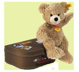 Auch Steiff-Teddybären haben im Museum einen neue Heimat gefunden. With friendly permission of the Toy Museum.