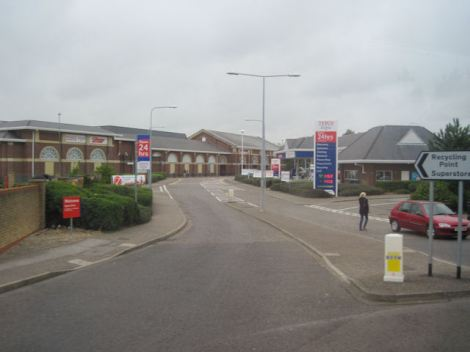 Tesco in Maldon Essex).    © Copyright John Firth and   licensed for reuse under this Creative Commons Licence.