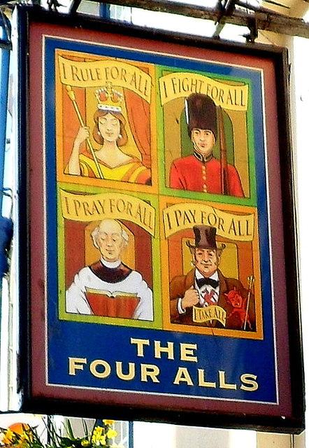 Ein besonders gelungenes Pubschild aus Caernarvon in Wales.  © Copyright Jaggery and licensed for reuse under this Creative Commons Licence.